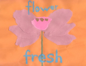 Breathing in, I see myself as a flower. Breathing out, I feel fresh.